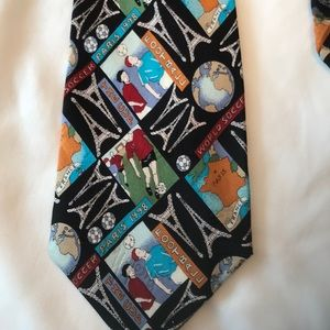 Nicole Miller World Cup tie from 1998!
